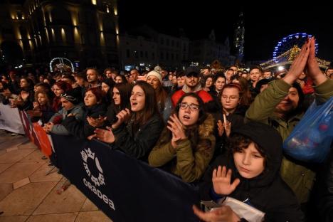 Generozitate de Oradea! Sumă record donată de orădeni în 'Oraşul faptelor bune': 140.000 de euro pentru o fetiţă bolnavă (VIDEO)