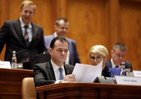 Guvernul Orban şi-a asumat răspunderea pentru primari în două tururi. PSD va depune moţiune de cenzură (VIDEO)