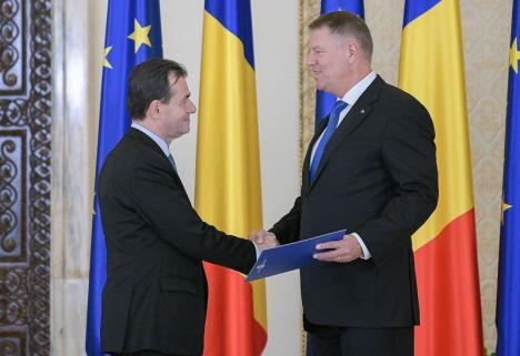 Ludovic Orban, desemnat premier încă o dată de preşedintele Klaus Iohannis (VIDEO)