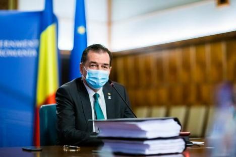 Ludovic Orban: Starea de alertă se va prelungi, dacă numărul infectărilor nu scade semnificativ