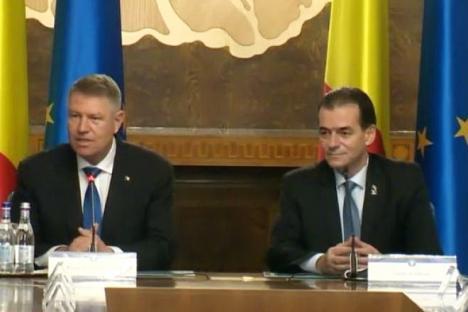 """Prima şedinţă a Guvernului PNL. Orban: """"Aştept să fac febră musculară de la câte demiteri voi semna"""""""