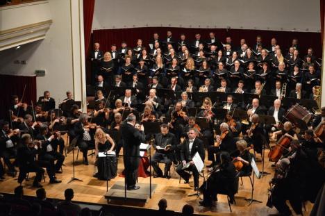 Recviemul german, cu Corul Filarmonicii, soprana Irina Iordăchescu şi baritonul Ştefan Ignat