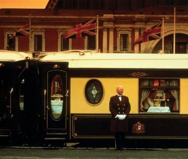 Orient Express pleacă din gară