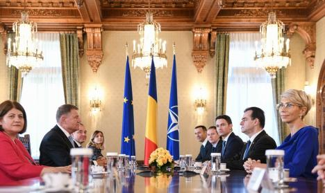 Klaus Iohannis, după consultări cu partidele: 'Ne îndreptăm înspre un guvern PNL sau un guvern format în jurul PNL'