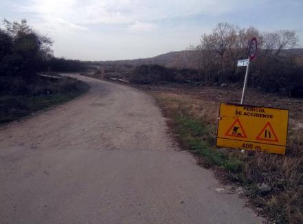 Oradea va ajuta comuna Oşorhei cu 60.600 lei pentru construirea drumului de Fughiu