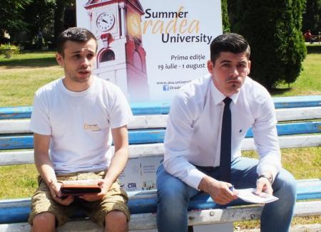 Încă o săptămână de înscrieri la şcoala de vară a Universităţii orădene