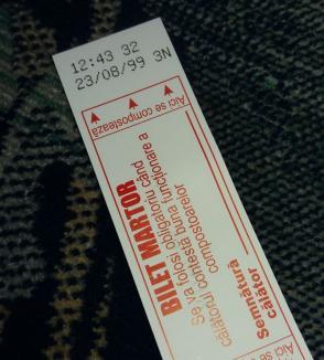 A dat chix! Sistemul de ticketing al OTL este în pană şi le spune călătorilor că sunt în anul 1999 (FOTO)