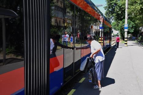 OTL: Staţionări tramvaie în 5 august