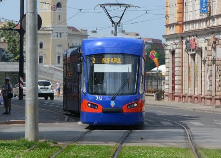 OTL: Circulaţia tramvaielor, întreruptă VINERI, între orele 17 şi 20.30, pe tronsonul Piaţa Gojdu - Nufărul