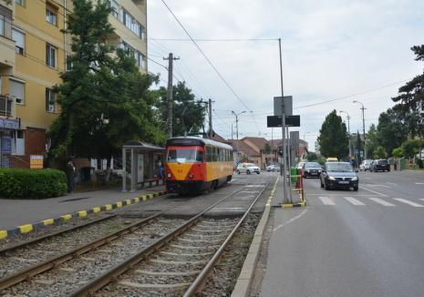 OTL: Circulaţia tramvaielor în zona Olosig, întreruptă în această seară pentru lucrări urgente la macaz!