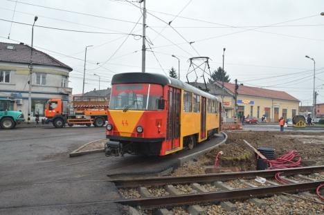 S-a reluat circulaţia tramvaielor prin Decebal: OTL explică noul mers al mijloacelor de transport în comun