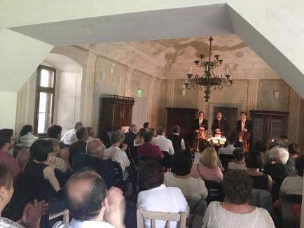Conacul Komaromi a răsunat în acordurile muzicii lui Schubert şi Beethoven