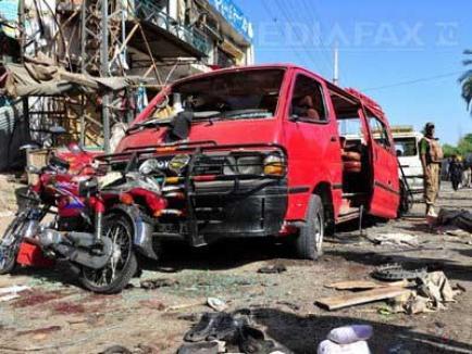 Talibanii au început răzbunarea lui Ben Laden: două bombe au omorât 70 de pakistanezi