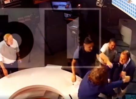 Ţigănie televizată: Au apărut imaginile în care Palada îl agresează pe Goțiu (VIDEO)