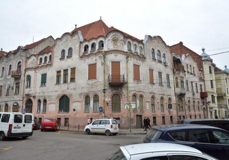 Casele Adorján I şi II vor fi reabilitate alături de alte trei clădiri din centrul Oradiei(VIDEO)