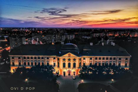 Noi lucrări la Palatul Baroc din Oradea. Va avea în subsol o sală multifuncțională și birouri