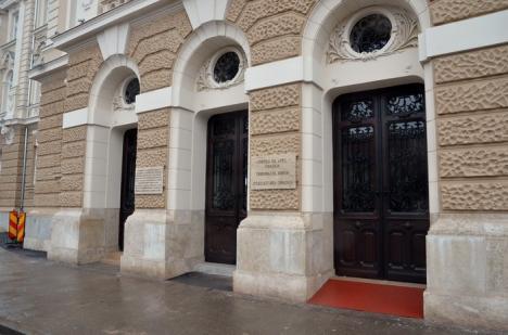 A început recepţia tehnică a Palatului de Justiţie!  În martie, instanţele se mută 'acasă', iar procesele se suspendă două săptămâni