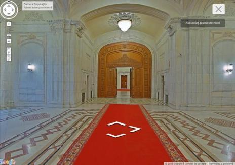 Palatul Parlamentului poate fi vizitat virtual pe Google