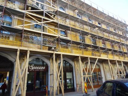 Şantier la Casa Veneţiană: A început reabilitarea palatului Rimanóczy Kálmán Senior (FOTO)