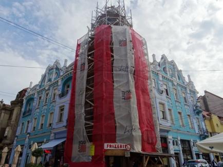 Ne enervează: Păsuită de Primărie pentru finalizarea reabilitării Palatului Moskovits, firma Abed Nego n-a mai reluat lucrările