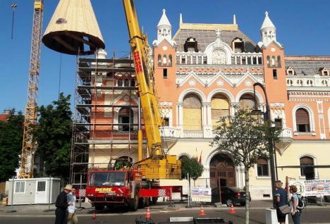 Reabilitarea Palatului Episcopal Greco-Catolic va fi finanţată dintr-un credit al Primăriei, în valoare totală de 35 milioane euro