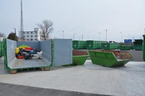 Patru orașe din Bihor vor avea platforme unde locuitorii să depună gratuit deșeuri pe care operatorii de salubrizare nu le ridică