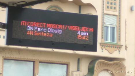 OTL: Noi panouri electronice informative în staţii (FOTO)