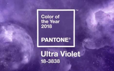 Ultra violet, culoarea anului 2018