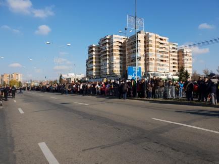 Ziua Națională, la Oradea: Bihorenii celebrează Centenarul în Piața Unirii (FOTO/VIDEO)