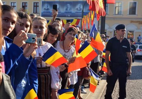 Programul zilei de 1 Decembrie la Oradea: Paradă militară, concerte şi focuri de artificii