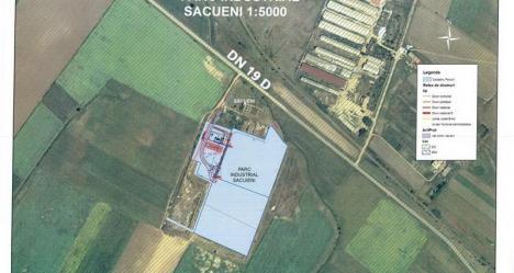 Parcul Industrial din Săcueni va fi construit de Drumuri Orăşeneşti din Oradea şi Luxten Lighting Company SA din Bucureşti