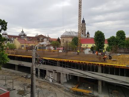 ADP Oradea: Parcarea de pe strada Braşovului, la nivelul doi(FOTO)