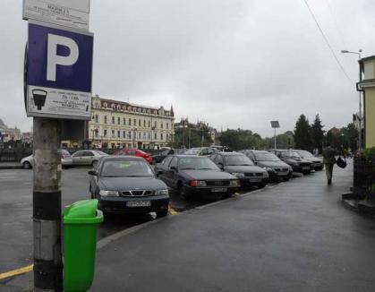 Orădenii pot plăti online amenzile de parcare