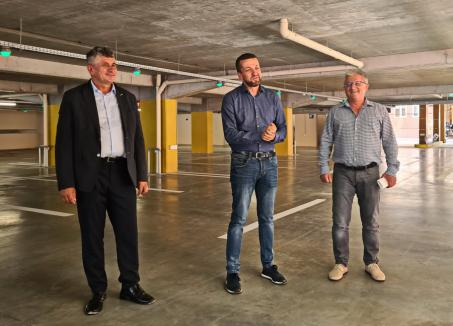 Trei luni de gratuitate! Parcarea de la fosta bază sportivă Voința din Oradea va fi dată în funcțiune începând din 20 septembrie (FOTO / VIDEO)