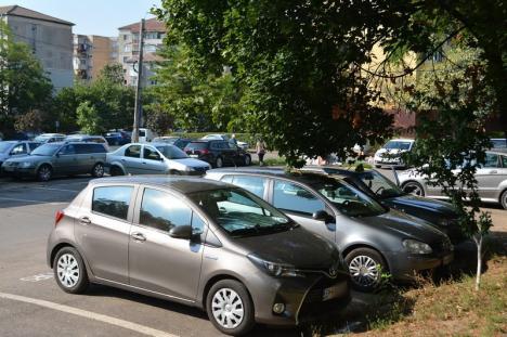 Bihorel: Zece sugestii pentru aplanarea războiului pentru parcări la domiciliu în Oradea