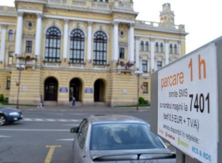 Metoda Bolojan: Pe 1 august, orădenii care au parcat fără să plătească au fost amendaţi cu 75 lei!