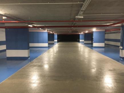Lucrările la parcarea subterană din strada Independenţei, pe ultima sută de metri. Cum arată în interior (FOTO)