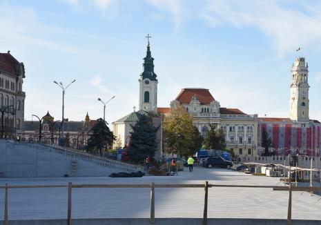 ADP Oradea: Parcarea din strada Independenţei ar putea fi inaugurată în aprilie