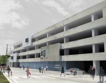 Parcarea din spatele Tribunalului va fi construită de RAPAS