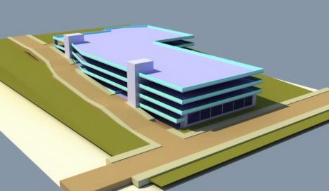 Parcarea supraetajată de lângă Spitalul Judeţean din Oradea va avea 500 de locuri. Vezi cum va arăta! (FOTO)