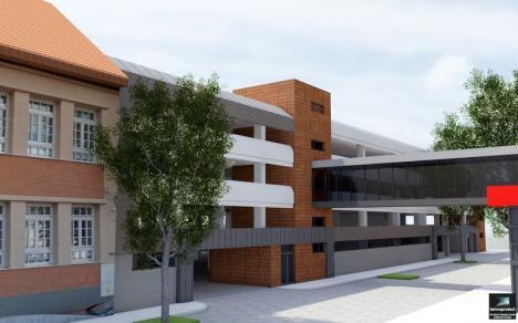 În rate pe cinci ani: Parcarea supraetajată din strada Braşovului va fi construită de ADP Oradea