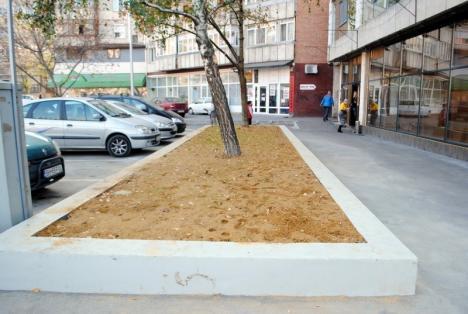 Parcarea de la intersecţia străzilor Transilvaniei cu Moldovei a fost reabilitată (FOTO)