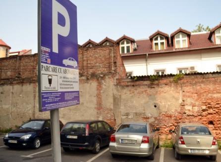 Majorare cu peste 20%! Primăria Oradea vrea să scumpească de luna viitoare abonamentele de parcare