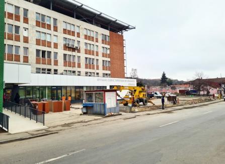 Oradea va împrumuta 34,2 milioane euro pentru construirea parcării de la Spitalul Judeţean şi alte investiţii