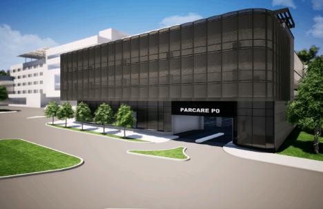 Parcare piperată: Parkingul de lângă Spitalul Judeţean va costa suma record de 7,7 milioane euro, din care 1,1 milioane euro merg pe exproprieri (FOTO)