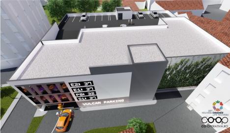 Parcarea supraetajată din strada Iosif Vulcan va avea 145 de locuri. Vezi cum va arăta! (FOTO / VIDEO)
