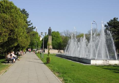 Tânăr de 23 de ani, prins de jandarmi după ce a furat telefonul unui copil în Parcul 1 Decembrie din Oradea