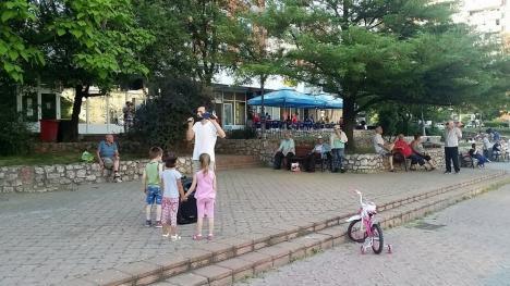 """""""Judecata de Apoi"""", în Parcul Magnoliei din Oradea (FOTO / VIDEO)"""