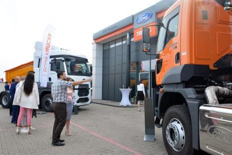 ATP Exodus - noul Partener Cefin Trucks în reţeaua de distribuţie Ford Trucks în România (FOTO)