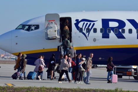 Record: Peste 20.000 de pasageri, în luna noiembrie, pe Aeroportul din Oradea
